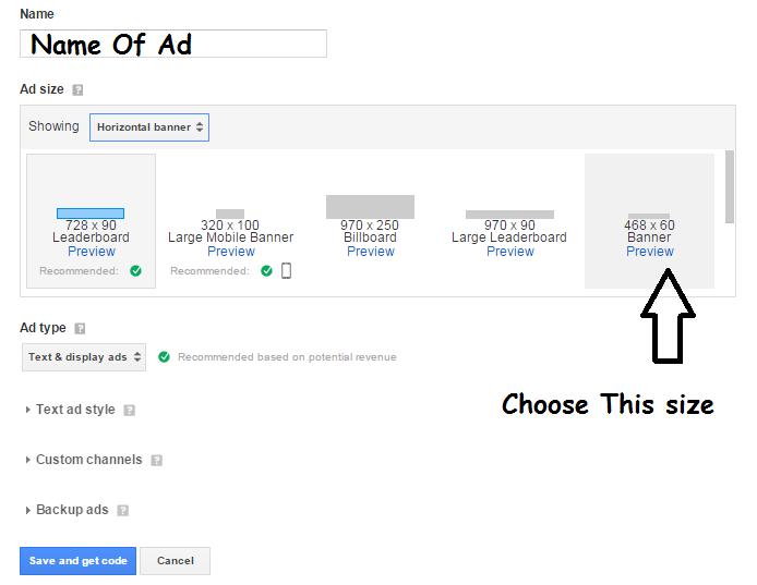 Use Hosted Adsense account On Custom Domain