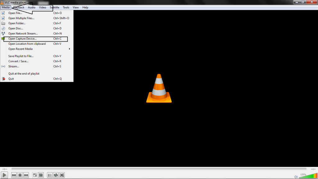 Record Desktop Video Using VLC