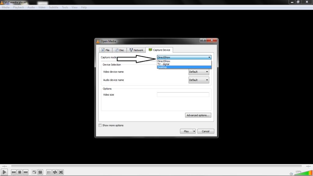 Record Desktop Video Using VLC