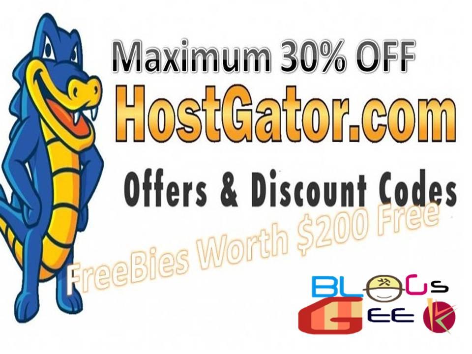 HostGator Maximum Discount Codes November 2016