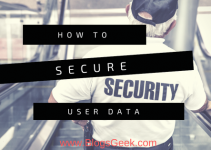 Secure your user data