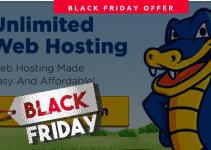 HostGator Black Friday 2018 deal