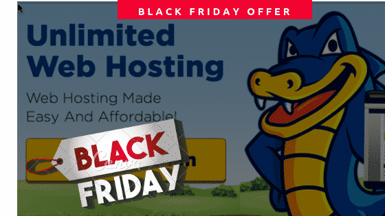HostGator Black Friday 2018 deal