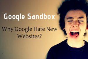 Google Sandbox Effect