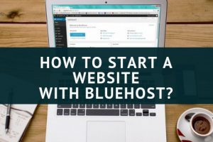 start website with bluehost