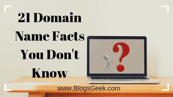 21 Amazing Facts About Domain Names & Internet You Don't Know
