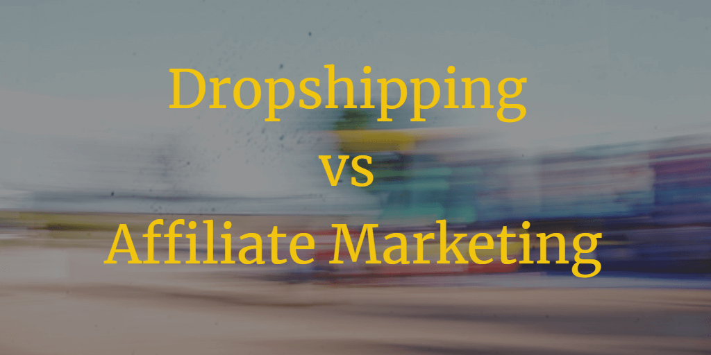 dropshipping vs affiliate marketing title