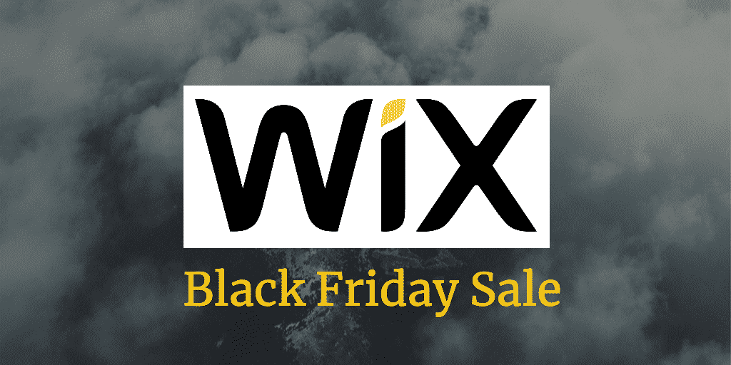 wix black friday sale