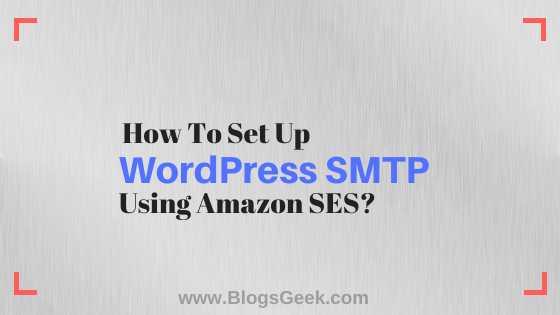 how to set up wordpress smtp