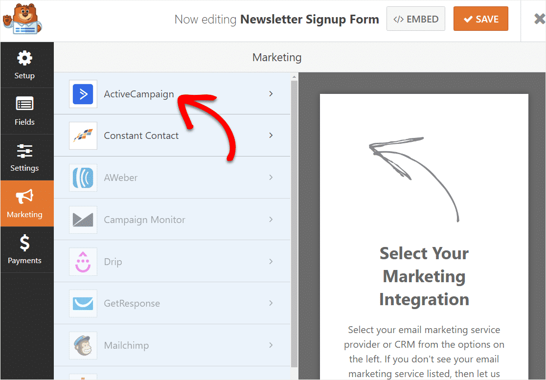 activatecampaign-in-wordpress-integration-to-forms-enabling