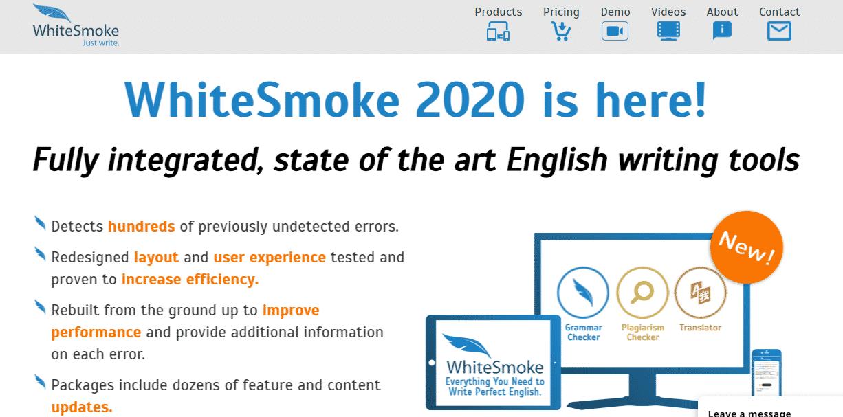WhiteSmoke - Grammarly Alternative