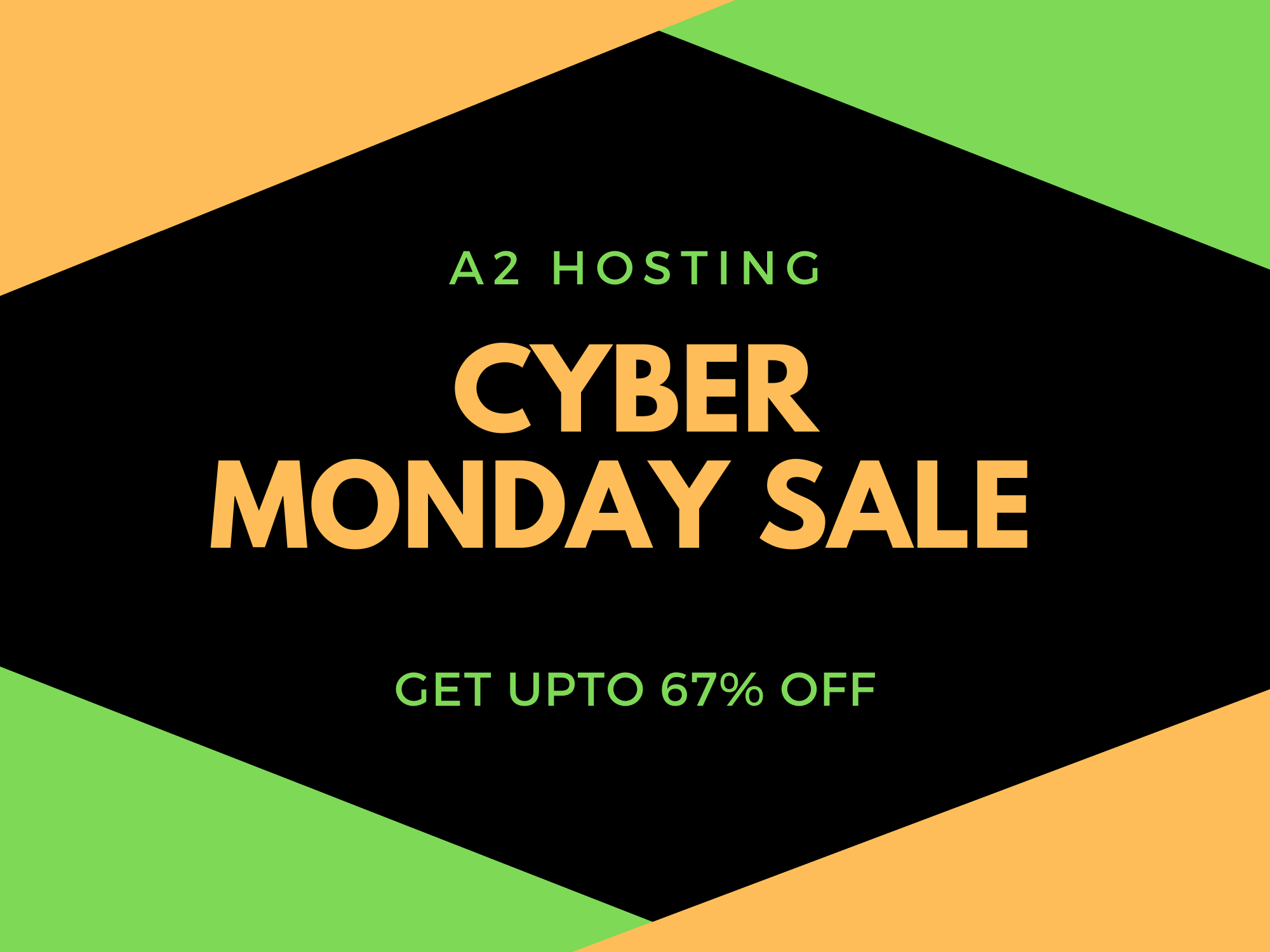 a2 hosting cyber monday deal