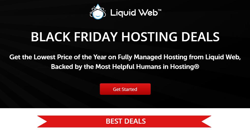 Liquid web Black friday VPS hosting deal