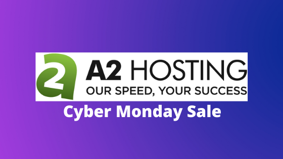 a2hosting cyber monday