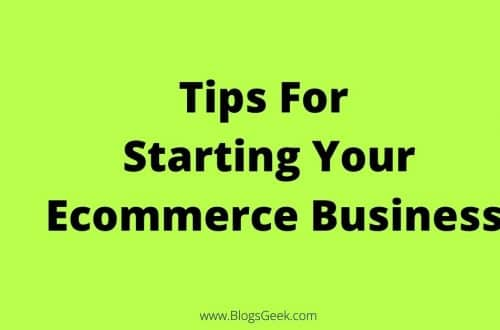 tips for ecommerce business
