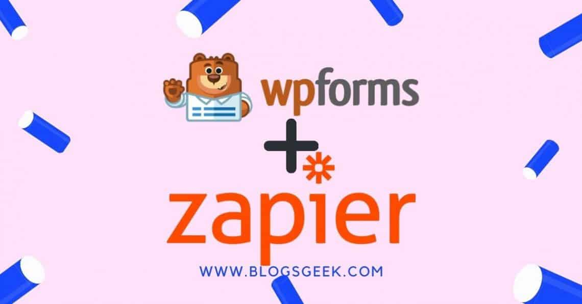 zapier addon for wpforms