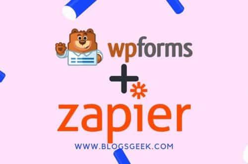 zapier addon for wpforms